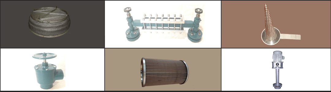 Manufacturing and Exporting of Demister Pads, Strainers, Filters, Valves, Separators, Level Gauges, Agitators, etc,
